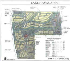 Lake Havasu 470 Conceptual Site Plan
